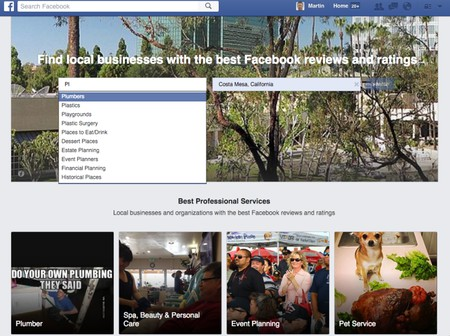 Facebook lance Facebook professional services