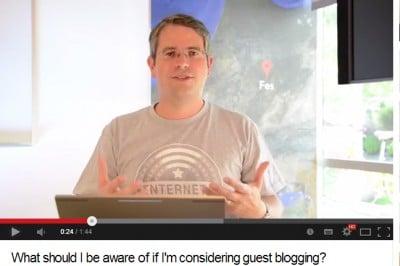 Le guest blogging dénoncé par Google