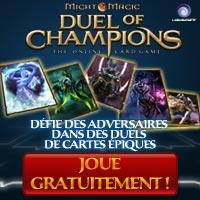 Nouveau jeu Ubisoft Duel Of Champions en exclusivité chez Daisycon