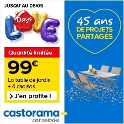 Grand challenge Castorama avec 5000 euros de primes à la clé !