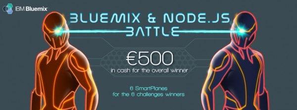 Bluemix & Node.js Battle