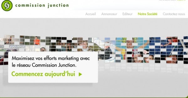 Nouveau site Commission Junction