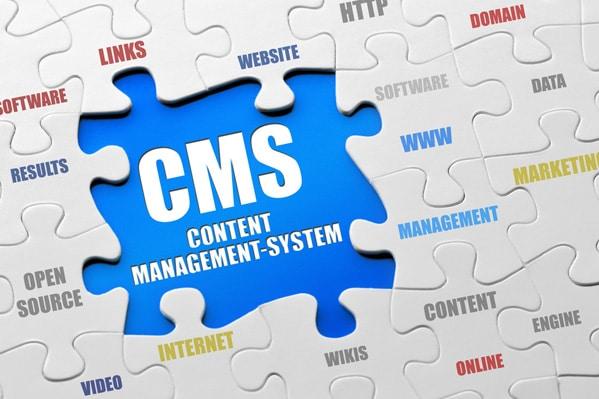 Avoir un site construit avec un CMS