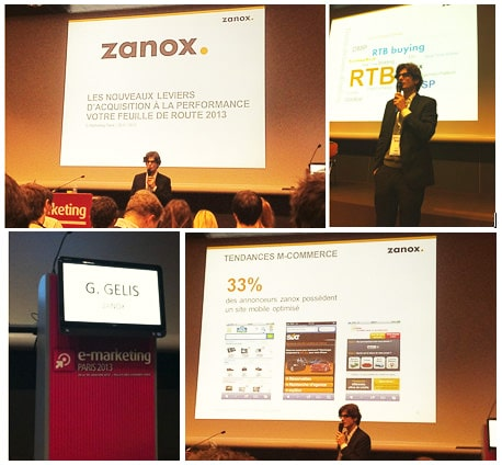 Récap : zanox au salon e-marketing 2013