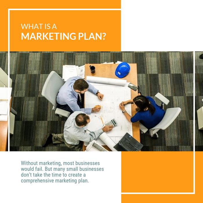 Marketing plan visuel
