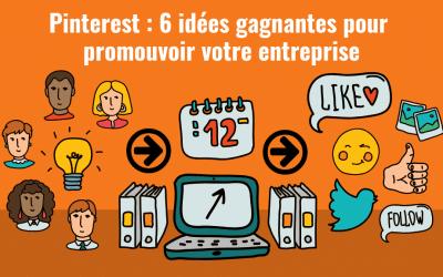 Pinterest idées gagnantes header