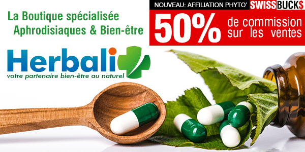Programme d'affiliation HerbaliPlus – 50% de commissions à la clé !