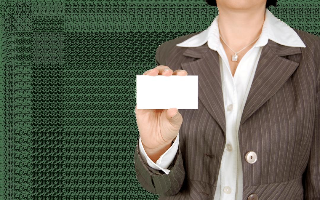 Réussir vos cartes de visite pour assurer votre communication