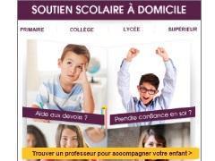 Affiliation soutien scolaire à domicile
