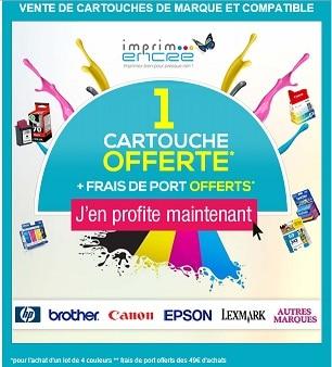 Nouvelle campagne à TradeTracker France: Imprim-encre.com