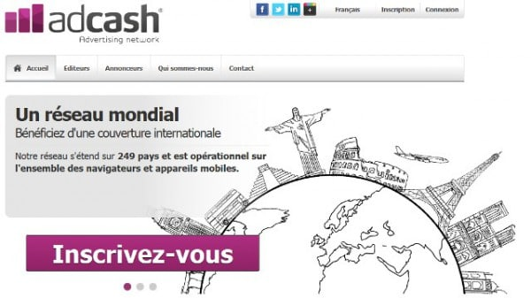 Adcash.com fait peau neuve!