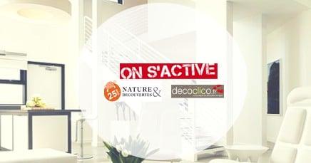 Découvrez nos sponsors du jour : Nature & Découvertes et Decoclico