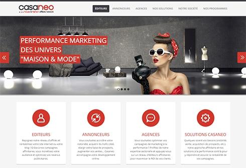 Casaneo : Plateforme d'affiliation sectorielle dédiée aux univers de la maison et de la mode
